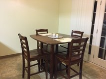 Counter Height Dining Table with Chairs in Tacoma, Washington