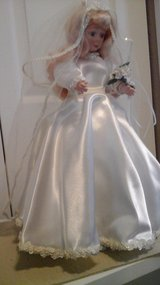 "Wedding Reception Table Decor Display Doll ""Wedding Bride"" in Shorewood, Illinois"