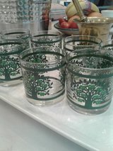 Vintage bar glasses by Colony in Beaufort, South Carolina