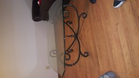 Glass top metal base coffee table in Elizabethtown, Kentucky