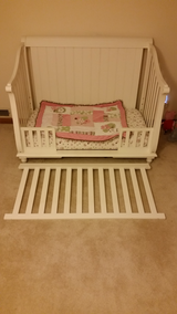 Baby crib and first bed in Plainfield, Illinois