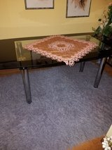 glass top table in Schweinfurt, Germany