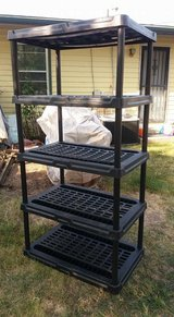 "Black adjustable stand 36x24"" 71"" tall $45 in Fort Riley, Kansas"
