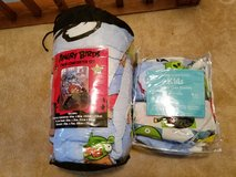 Angry Birds Twin Comforter & Sheets Set in Elgin, Illinois