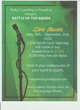 Battle of the Bands in Fort Leonard Wood, Missouri