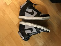 Nike Swoosh high top dunks in Vacaville, California