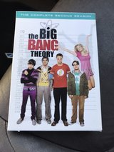 the Big Bang Theory second season in Fort Bliss, Texas