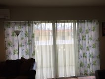 curtains in Okinawa, Japan