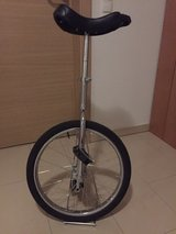 unicycle in Ramstein, Germany