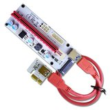 PCIE Risers GPU adapter card, PCI-E Express Cable 1X TO 16X VER 008s in Okinawa, Japan