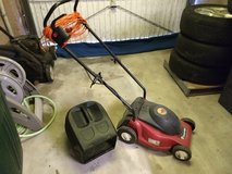 Electric Lawn Mower  with grass catcher 220V in Baumholder, GE