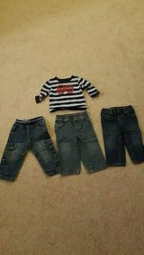 Boys 18 month jeans and t-shirt in Bolingbrook, Illinois