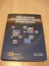electrical principles and practices : text by peter a. zurlis; glen a. mazur in Naperville, Illinois