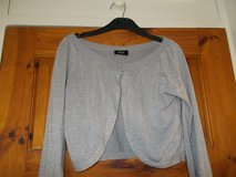 Grey Sparkly Bolero style top in Lakenheath, UK