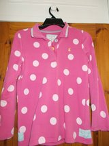 Joules Pink Spot Sweater in Lakenheath, UK