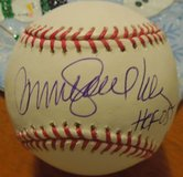 "Collectors Ryne Sandberg Signed Autograph Ball MLB COA letter Tristar ""HOF '05"" in Westmont, Illinois"