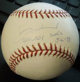 Collectors Kerry Woods 98 Roy/20 K Signed Autograph Ball MLB COA & Photos in Westmont, Illinois