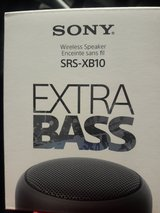 Sony wireless speaker SRS xb10 in Tampa, Florida