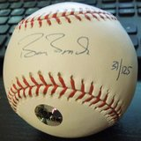 Collectors Barry Bonds Signed Autograph Baseball MLB COA - Passing The Torch in Bolingbrook, Illinois