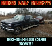 Junk scrap car removal in Fort Campbell, Kentucky