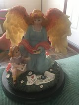 Angel  with little girl in Fort Campbell, Kentucky