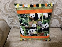 Pillow (Accent) - Handcrafted Panda Bear Design in Macon, Georgia
