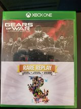 Xbox One Gears of War Ultimate Edition with Rare Replay Game in Byron, Georgia