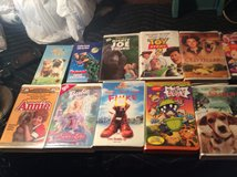 Kids movies/Disney vhs movie bundle in Fort Campbell, Kentucky