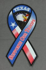 Texas Supports Our Troops Magnet - Made in USA! in Kingwood, Texas