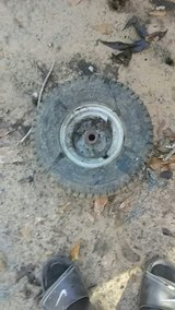 lawn mower tire and rim good condition in DeRidder, Louisiana