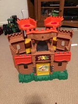 Imaginext castle in Naperville, Illinois