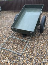 Ex RAF Armoures Handcart in Lakenheath, UK
