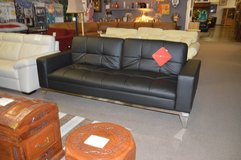 Leather Click Clack Sofa Bed in Fort Lewis, Washington