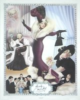 Mae West signed poster 1170 of 2000 in Nellis AFB, Nevada