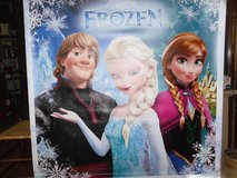 Frozen posters, Have 3 all heavy Vyn display unitsl in Nellis AFB, Nevada