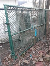Two (2) 10' x 6' Coated Chain-link Fence Gates in Baytown, Texas