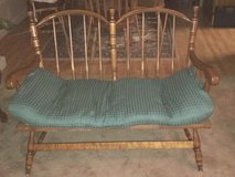 Antique Love Seat in Shorewood, Illinois