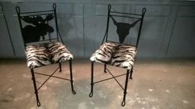 ANIMAL  INSPIRED CHAIR SET (FIRM PRICE) in Keesler AFB, Mississippi