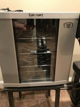 Cuisinart 16 bottle wine cooler in Camp Lejeune, North Carolina