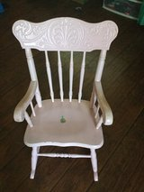 Childs pink rocking chair in Temecula, California