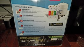 **new lower $$ ** watts Premier RO PURE PLUS - REVERSE OSMOSIS SYSTEM in Sugar Grove, Illinois
