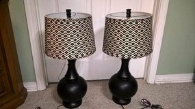 SET OF TWO LAMPS (LIKE NEW) in Biloxi, Mississippi