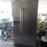 Whirlpool Refrigerator Stainless Steel in Spring, Texas