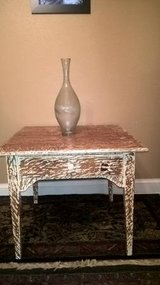 DISTRESSED  OAK TABLE(FIRM PRICE) in Biloxi, Mississippi