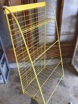 Metal Shelf yellow in Fort Lewis, Washington