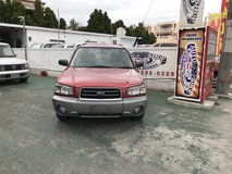FRESH 2003 Subaru Forester L.L.Bean Edition - One Owner Low KMs - DVD/NAVI - ETC - TINT - Compare in Okinawa, Japan