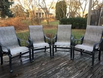 : ) Outdoor Patio Furniture >> !! Set of 4 Chairs in Lockport, Illinois