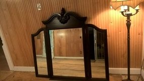 GORGEOUS  TRI FOLD MIRROR(ALL WOOD) in Biloxi, Mississippi