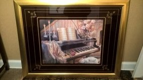 LARGE PIANO INSPIRED WALL PICTURE in Keesler AFB, Mississippi