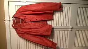 WOMEN'S  RED LEATHER JACKET in Biloxi, Mississippi